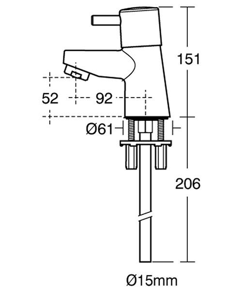 Technical drawing 11545 / B5109AA
