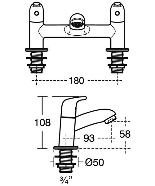 Technical drawing 33134 / B0293AA
