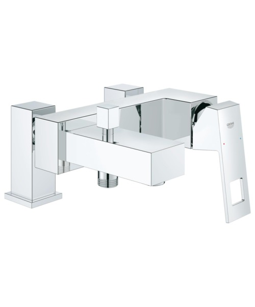 Grohe Eurocube Single Lever Deck Mounted Bath Shower Mixer Tap