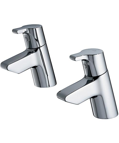 Ideal Standard Active Pair Of Bath Pillar Taps