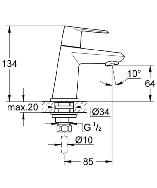 Technical drawing 50654 / 23051002