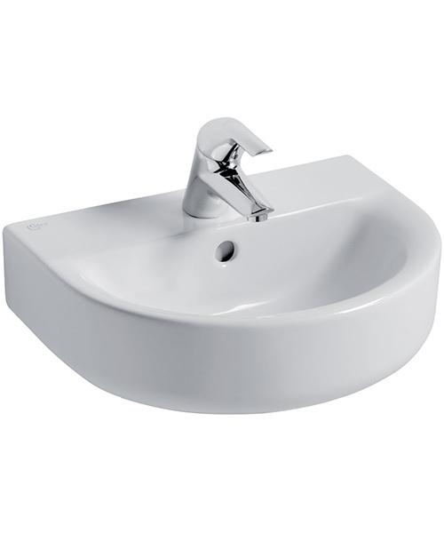 Ideal Standard Concept Arc 45cm 1 Tap Hole Handrinse Basin