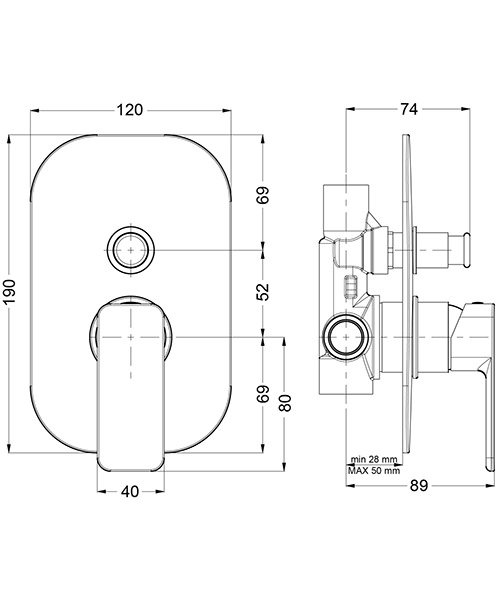 Technical drawing 36461 / AT0005RC