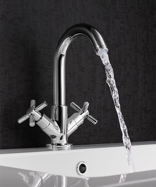 Additional image of Crosswater Totti Monobloc Basin Mixer Tap Chrome