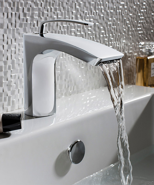 Additional image of Crosswater Essence Monobloc Basin Mixer Tap Chrome