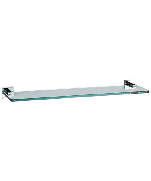 Crosswater Zeya 500mm Glass Shelf