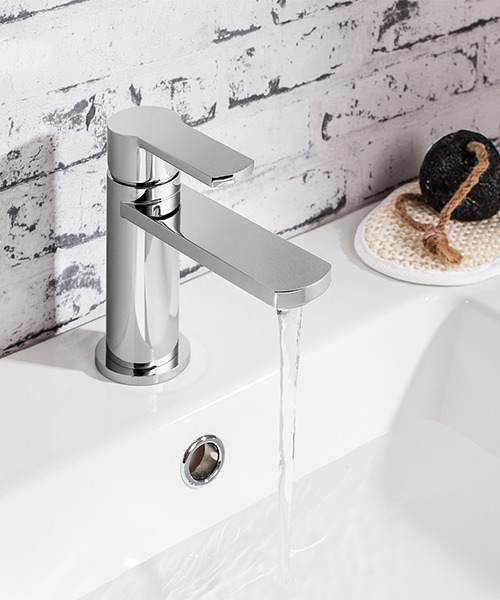 Additional image of Crosswater Wisp Monobloc Basin Mixer Tap Chrome