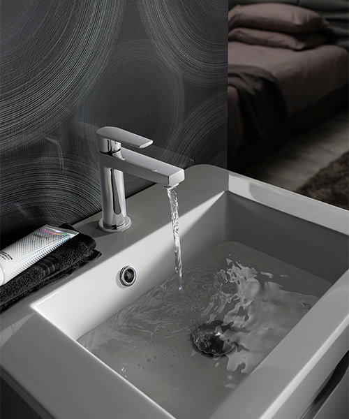 Additional image of Crosswater Solo Monobloc Basin Mixer Tap Chrome