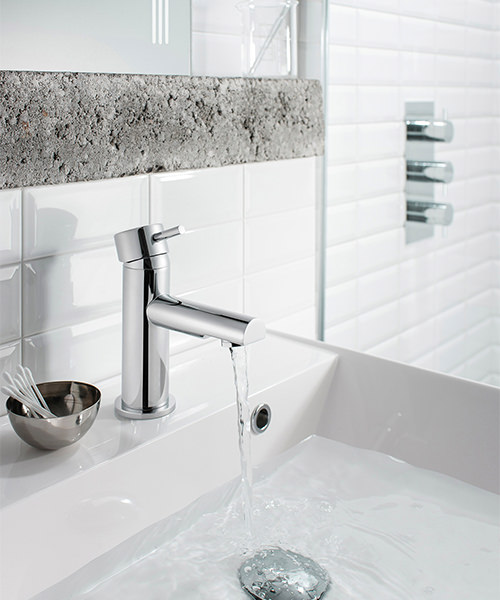 Additional image of Crosswater Kai Lever Monobloc Chrome Basin Mixer Tap
