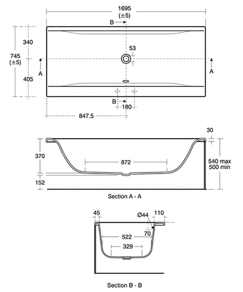 Technical drawing 10948 / E735801