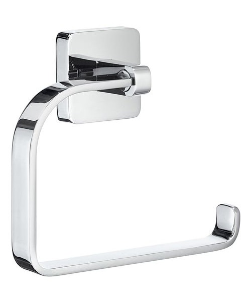 Smedbo Ice Wall Mounted Toilet Roll Holder Without Lid