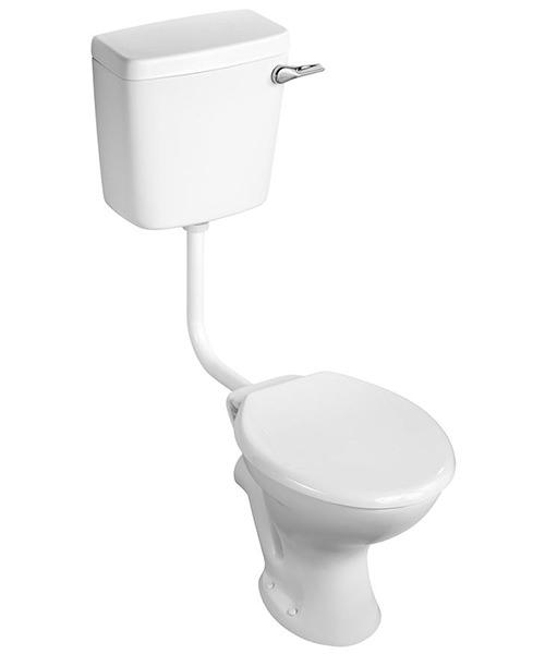 Armitage Shanks Sandringham 21 Magnia Low Level With Toilet Seat