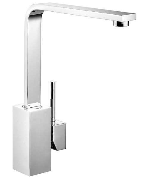 Rangemaster Quadrant Monobloc Single Lever Kitchen Sink Mixer Tap