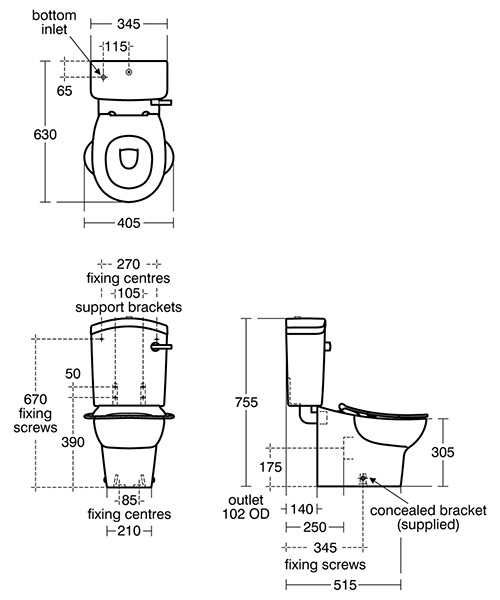 Technical drawing 28441 / S312201