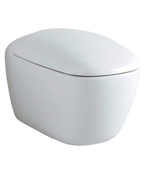Geberit Citterio 360 x 560mm Rimfree Wall Hung Toilet With Seat