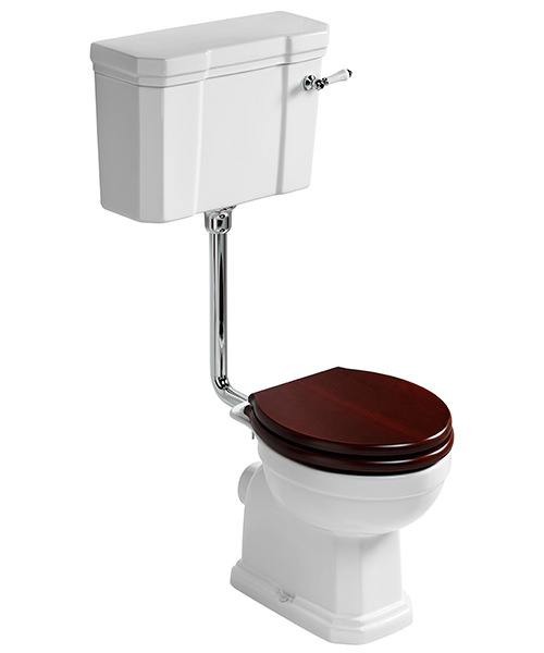 Ideal Standard Waverly Low Level WC Pan 645mm And Cistern Pack