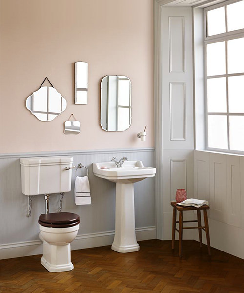 Additional image of Ideal Standard Waverly Low Level WC Pan 645mm And Cistern Pack