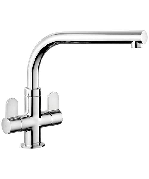 Rangemaster Salorno Dual Lever Kitchen Sink Mixer Tap