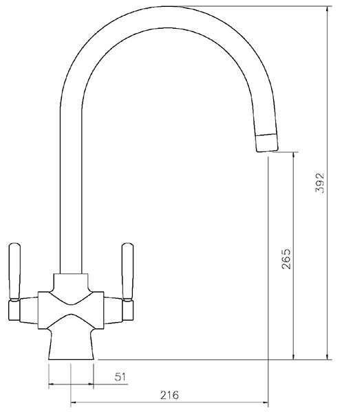 Technical drawing 25975 / TCF2CM/