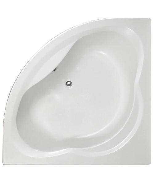 Trojan Laguna 1350 x 1350mm Corner Bath Tub With Panel - NTH