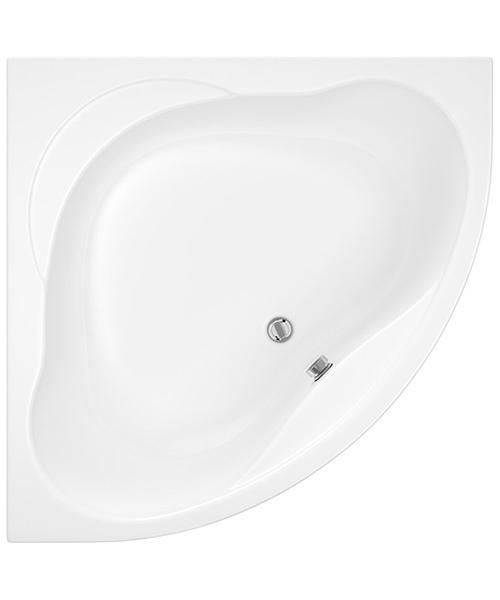 Trojan Laguna 1200 x 1200mm White Corner Bath With Panel