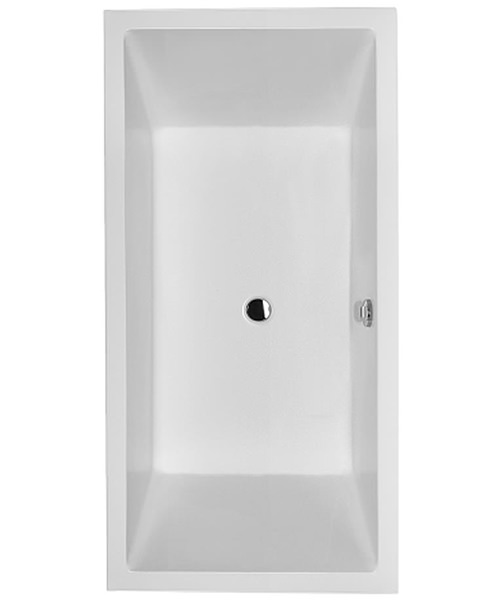 Duravit Starck 1800 x 900mm Double Ended Built-In Bath