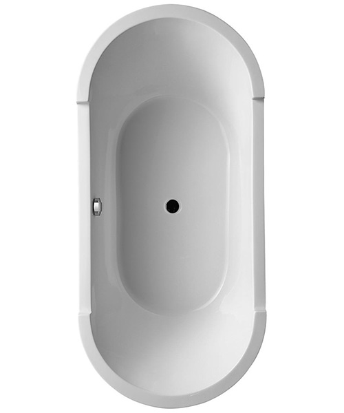 Duravit Starck 1800 x 800mm Oval Double Ended Built-In Bath