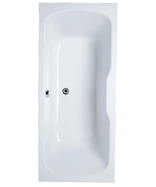 VitrA Optima Double Ended 1700 x 750mm Acrylic Bath