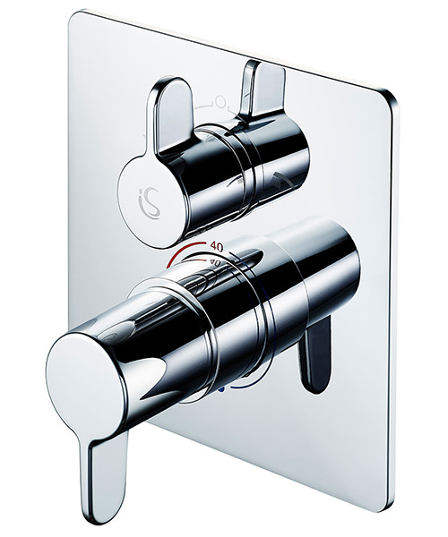 Ideal Standard Freedom Built-In Thermostatic Shower Mixer Valve With Diverter