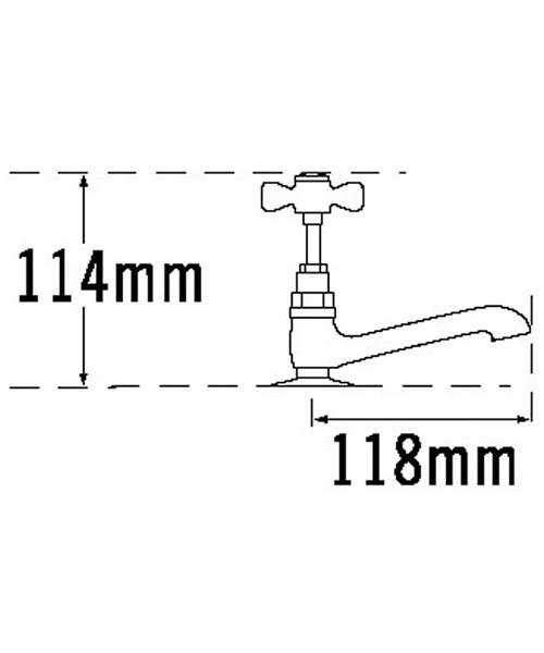 Technical drawing 11048 / 1091E
