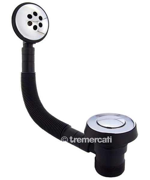 Tre Mercati 1 1-2 Inch Bath Pop-up Waste Chrome