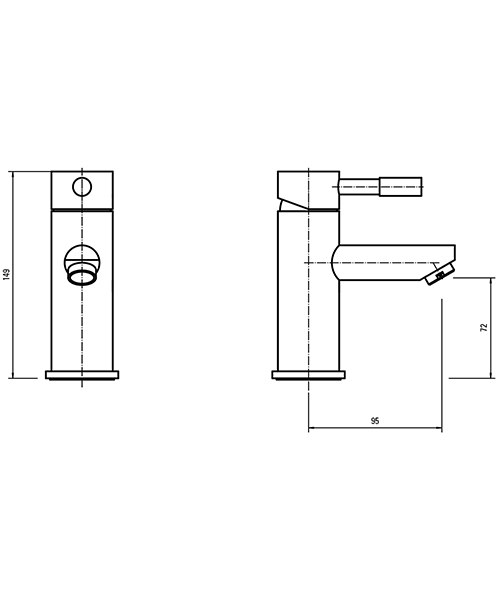 Technical drawing 34798 / PA001