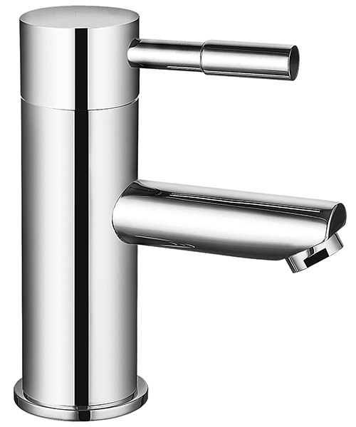 Saneux Pascale Monoblock Basin Mixer Tap With Clicker Waste