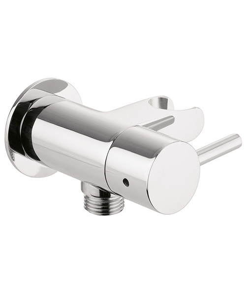 Crosswater Wall Outlet With Hose Attachment And Shut Off Valve