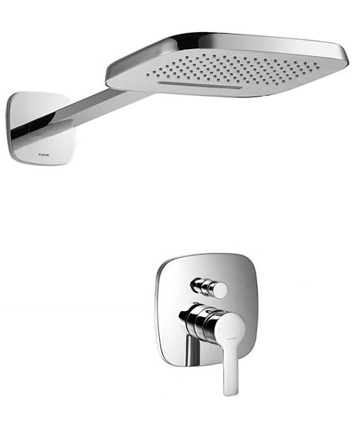 Flova Urban Manual Valve With Diverter And Dual Function Shower Head