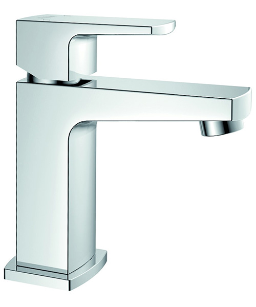 Flova Dekka Single Lever Basin Mixer Tap With Clicker Waste