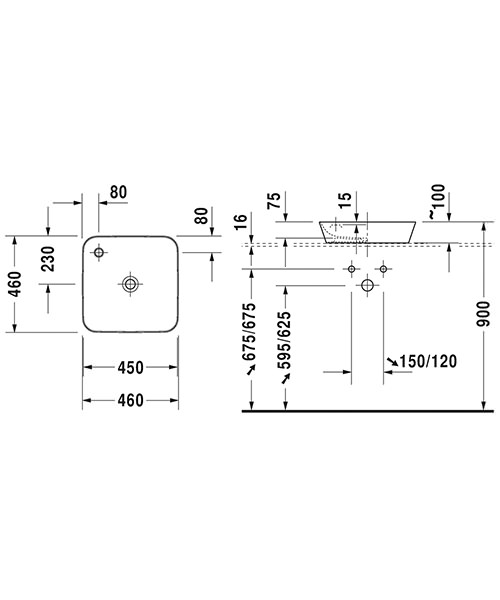 Technical drawing 44784 / 2340460000