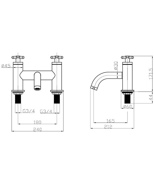 Technical drawing 13279 / TO322DC