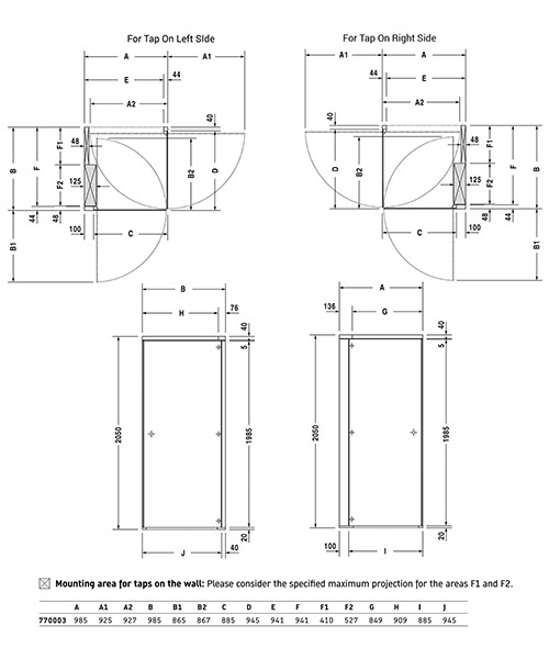 Technical drawing 4495 / 770003000000000