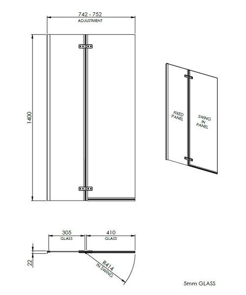 Technical drawing 2452 / ERSS1
