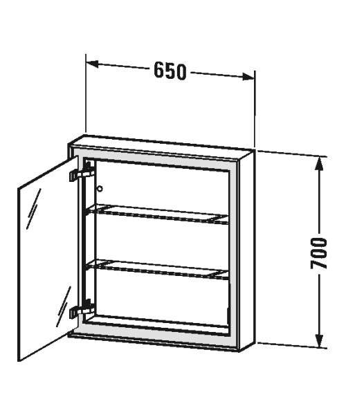 Technical drawing 53240 / LC7550L0000