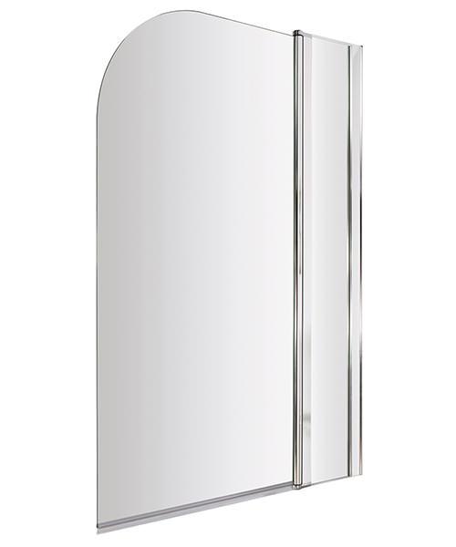 Lauren Straight 985-1005 x 1435mm Bath Screen With Fixed Panel