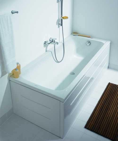 Additional image of Duravit D-Code 1700 x 750mm Built-In Bathtub Without Feet