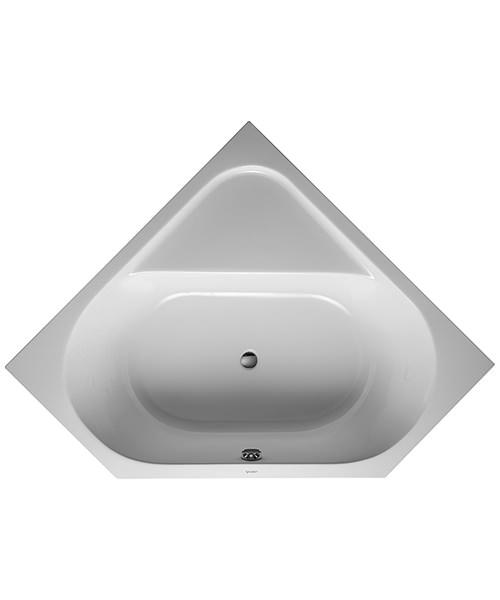 Duravit D-Code Built-In Corner Corner Acrylic Bath White 1400 x 1400mm