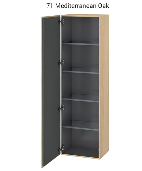Alternate image of Duravit L-Cube 500 x 363mm Tall Cabinet