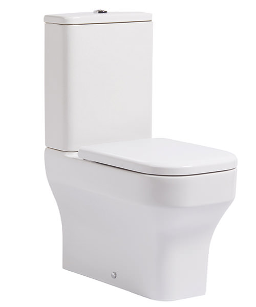Roper Rhodes Accent Close Coupled Fully Enclosed WC With Cistern And Seat