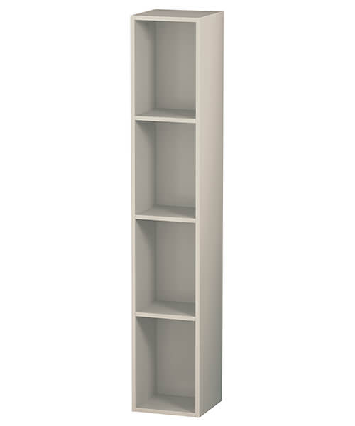 Alternate image of Duravit L-Cube 4 Compartments 180 x 1000mm Vertical Shelf Element