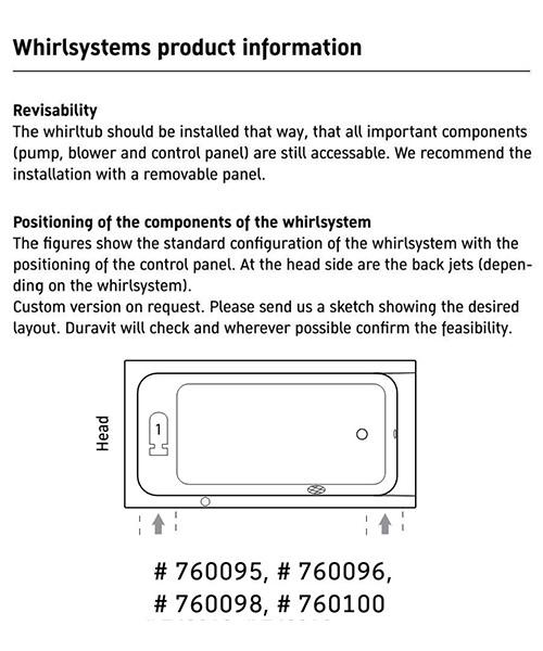 Additional image of duravit  760095000JP1000