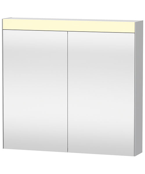 Duravit 810mm Double Mirror cabinet With On-Off Function