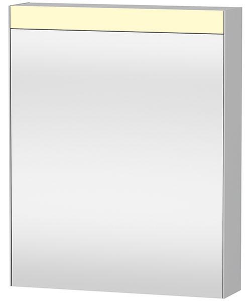 Duravit 610mm Single Door Mirror Cabinet With Switch-Plug Unit